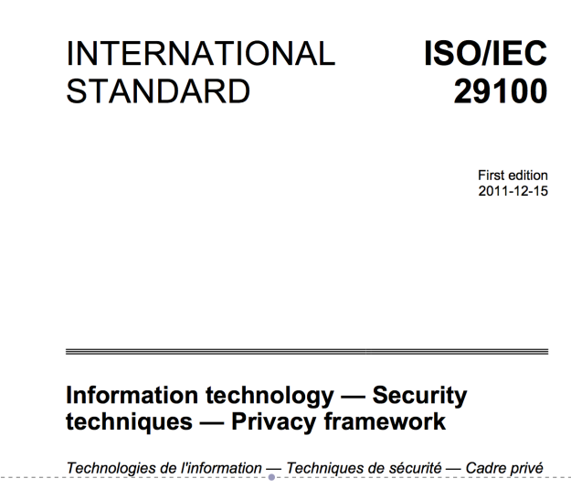 ISO29100